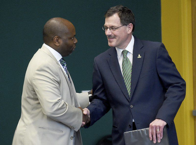 Incoming MSSU president pledges support for students in introduction to campus