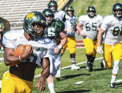 Lions close spring ball with scrimmage