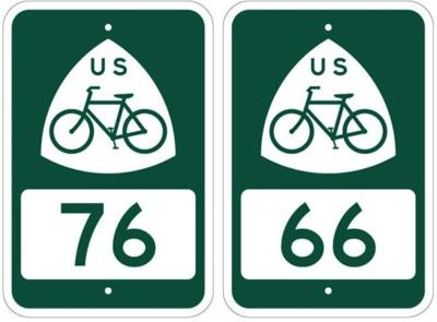 New signs will highlight U.S. Bicycle Routes throughout Southeast Kansas