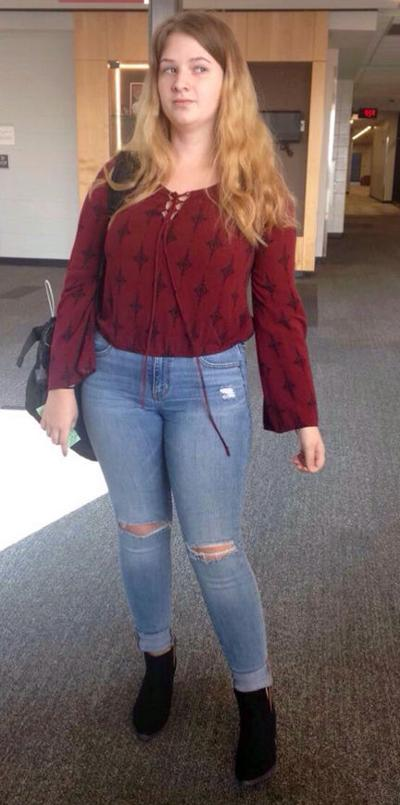 9eac0afac0 Story of Joplin student's alleged dress-code violation goes viral ...