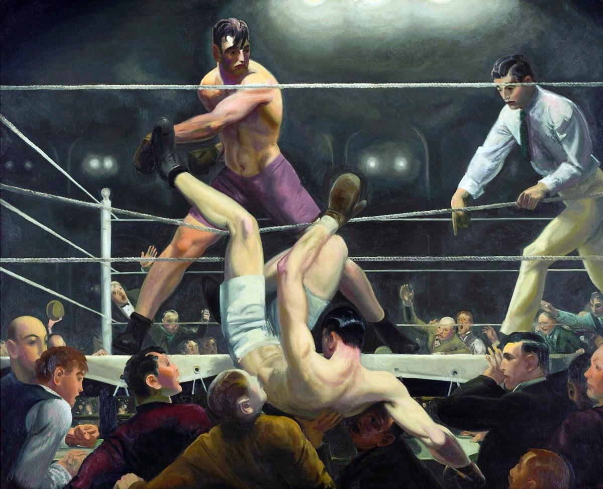 050121 Bellows painting Dempsey and Firpo 1924