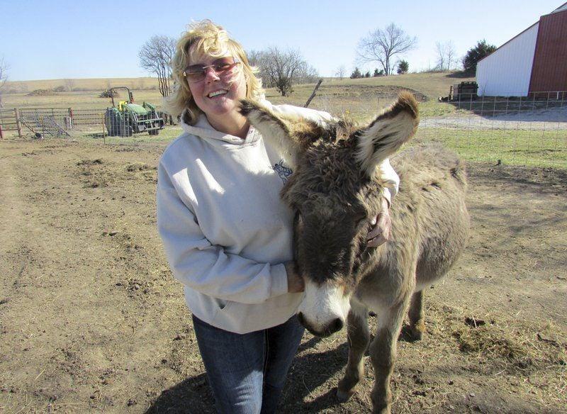 Local woman dedicates life to saving neglected donkeys