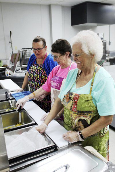 Much-needed equipment energizes lunch time at Carthage Senior Center