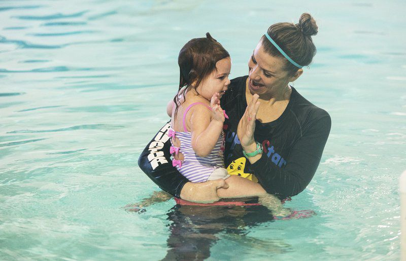 Buoyant babies: Self-rescue swimming classes help save toddlers' lives