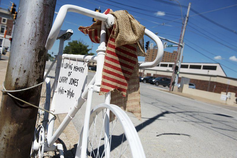 Ghost bikes honor cyclists killed on road