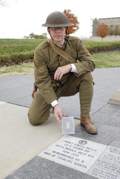 Local historian visits World War I sites, walking in the 'footsteps' of his grandfather