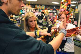holiday spirit halloween store takes plenty of work for two months of sales