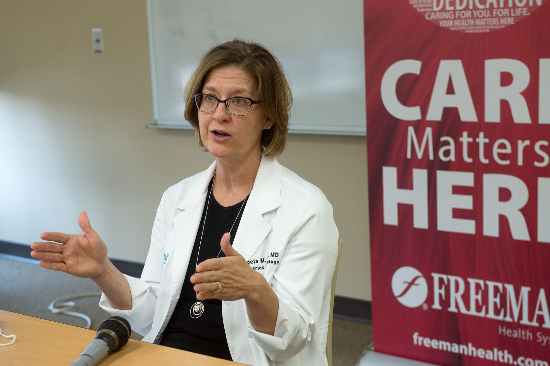 Physician discusses impact of COVID-19, vaccines on women's health