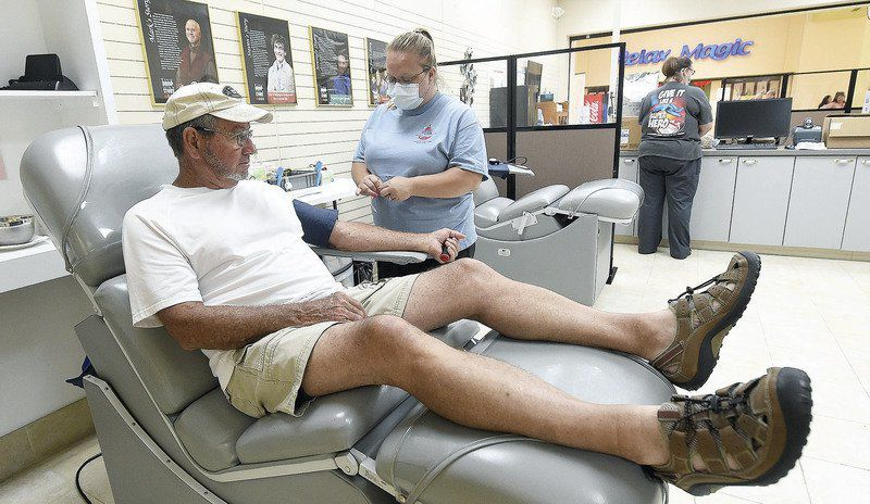 Blood center cites shortages