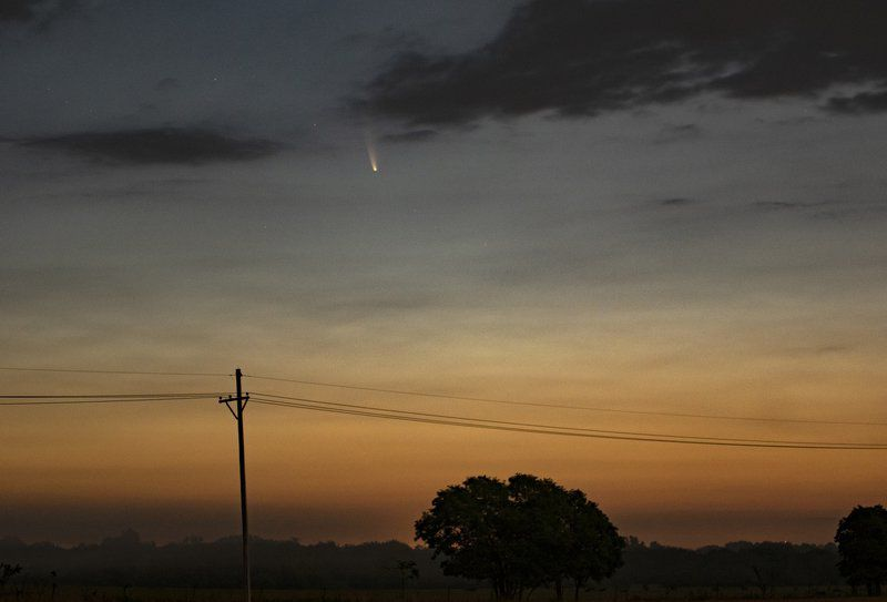 Comet NEOWISE to move into evening skies next week