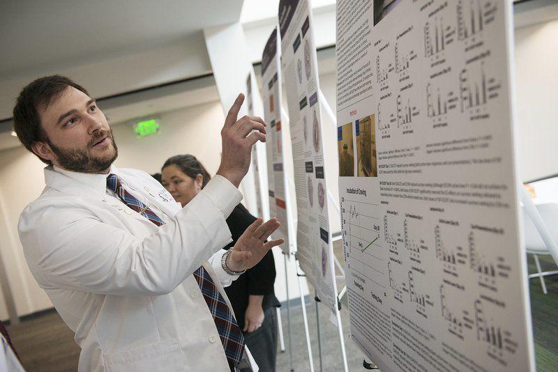 KCU Joplin students showcase their research at annual symposium
