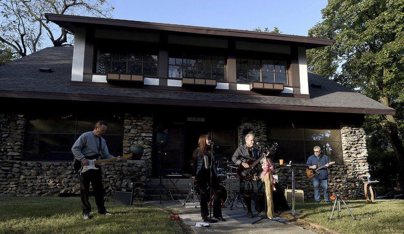 Porchfest attracts more bands, food and music enthusiasts