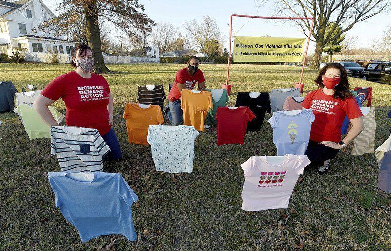 Traveling gun violence memorial stops in Joplin