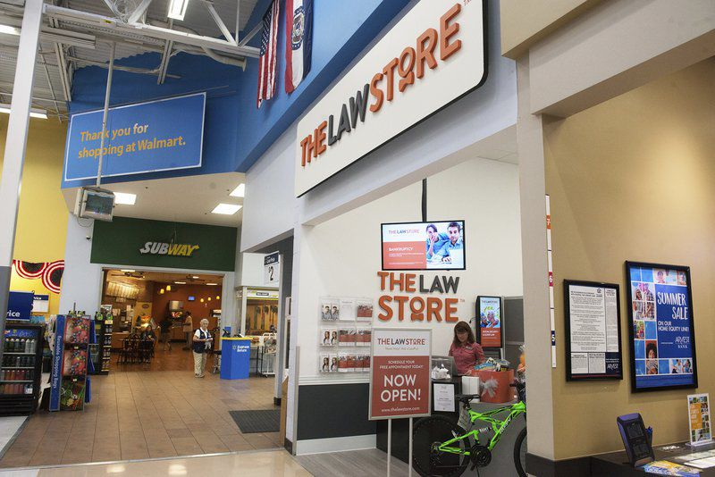 The Law Store brings legal help to Wal-Mart locations
