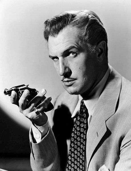 Actor Vincent Price to honored locally