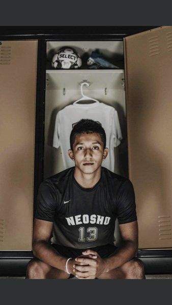 Neosho's Diego Vargas named boys soccer player of year