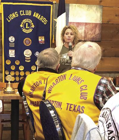 Lions Club guest speaker