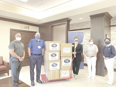 Tzu Chi donation to OakBend