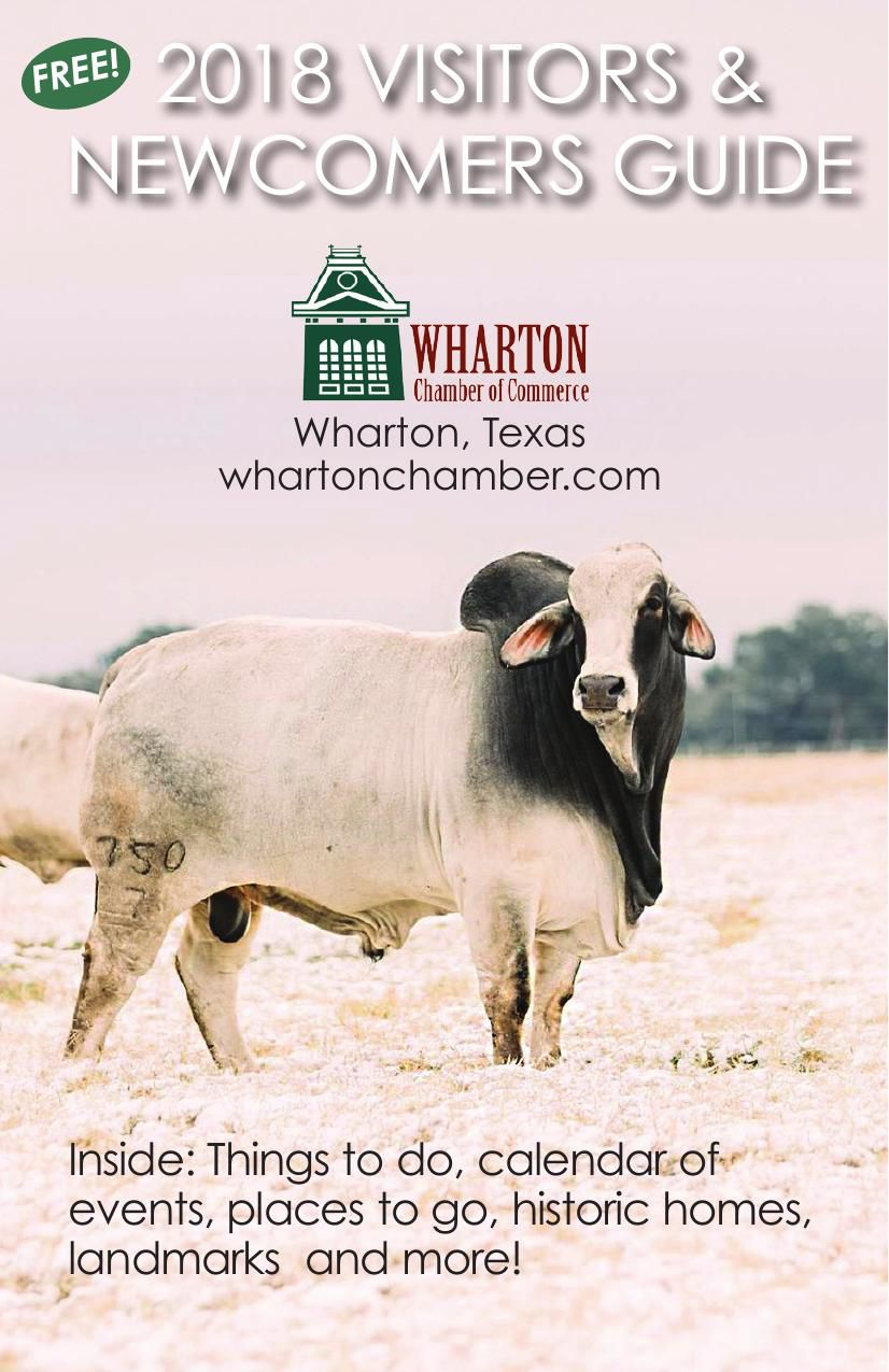 2018 Wharton Chamber Visitors & Newcomers Guide