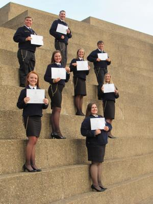 Boling FFA students make most of state event in Fort Worth