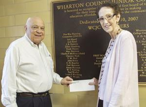 WCJC Foundation donates funds for students affected by Harvey