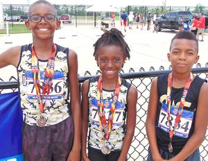 Wharton youth earn placement in track events
