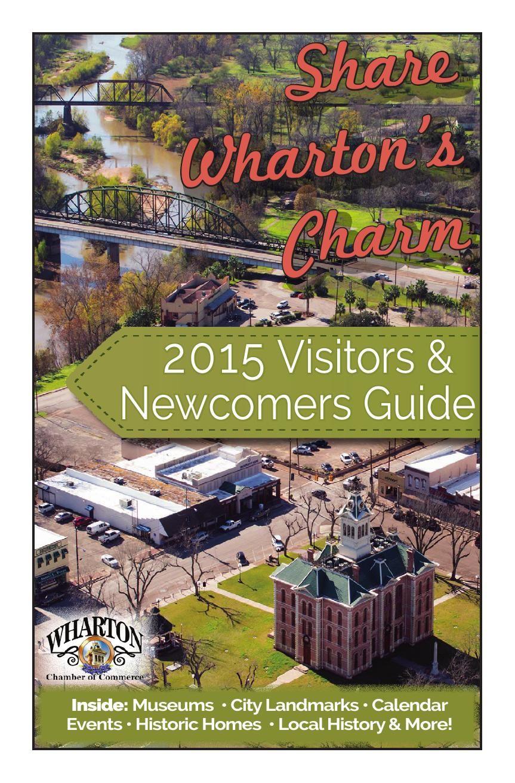 2015 Wharton Visitors & Newcomers Guide
