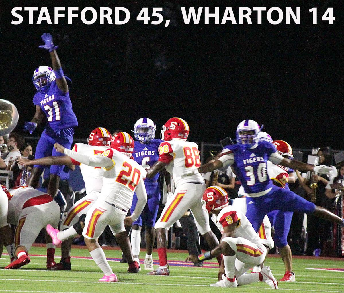 Wharton loses Homecoming game