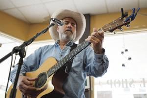 Coffee shop favorite Johnny Flores returns for another Java Jam show