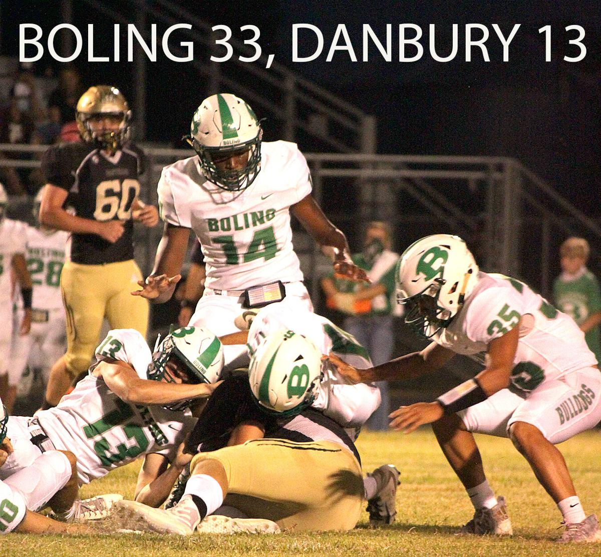 Danbury Homecoming game ruined by Boling Bulldogs