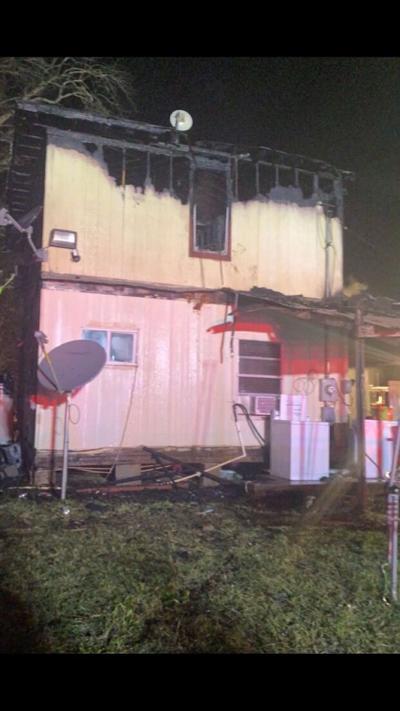 Lane City home burned