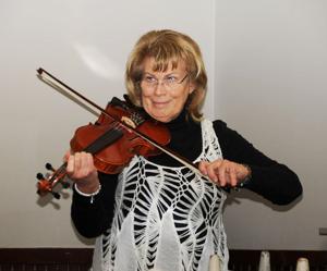 Mary Northington plays for the SAR