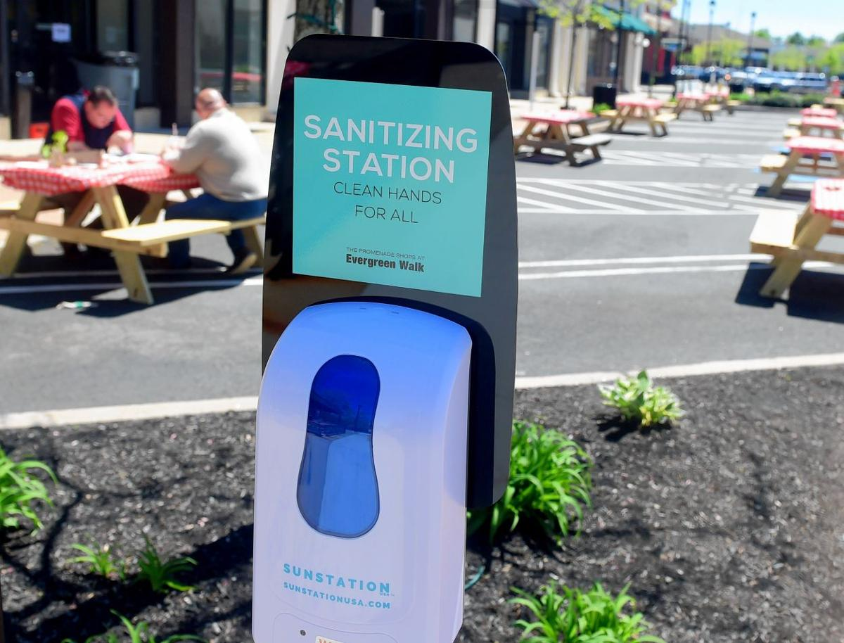 Sanitizing station