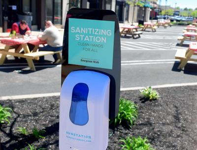 Sanitizing station