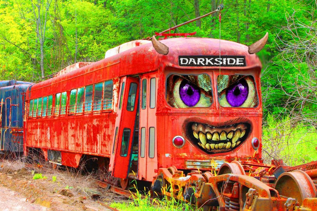 Take the ghoulish challenge: Trolley Museum sends passengers  on Rails to the Darkside