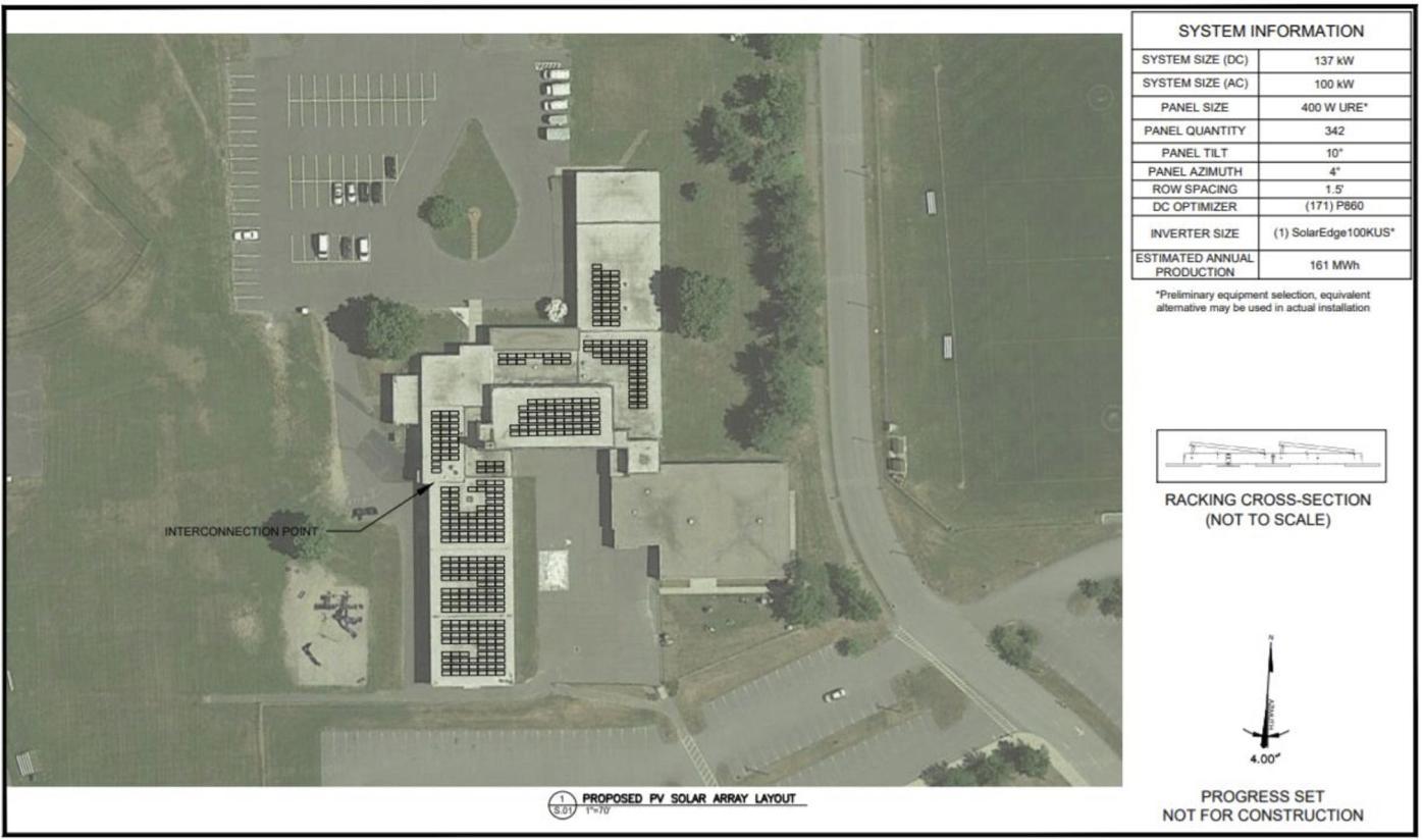 Wapping School solar panels