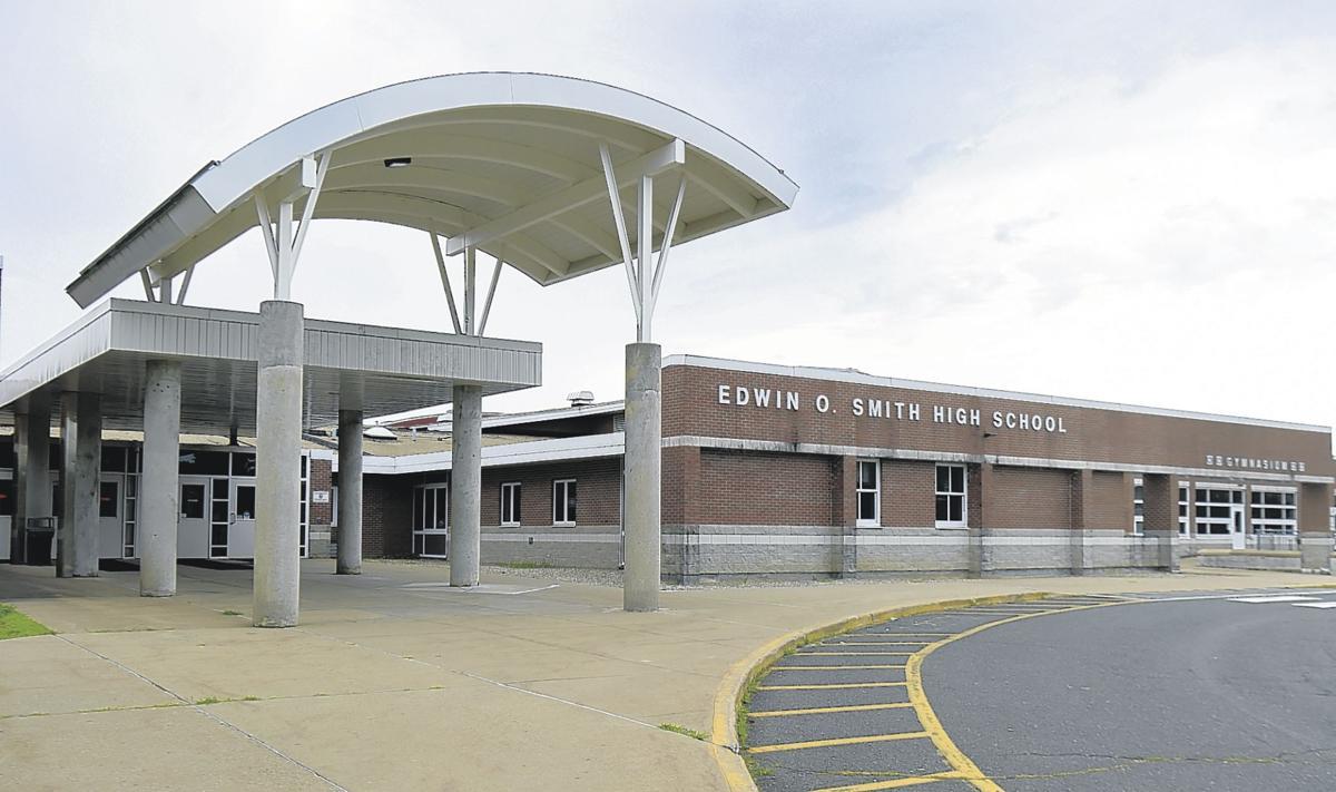 E.O. Smith High School in Mansfield