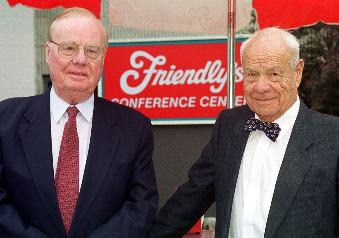 The brothers who co-founded Friendly's