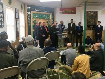 Officials know ID of person who phoned in violent, racist threat to Hartford Islamic Center but no arrest has been made, officials say.