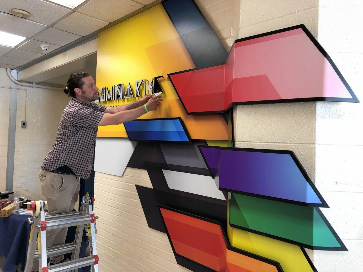 Installing 'Luminaries of Change'