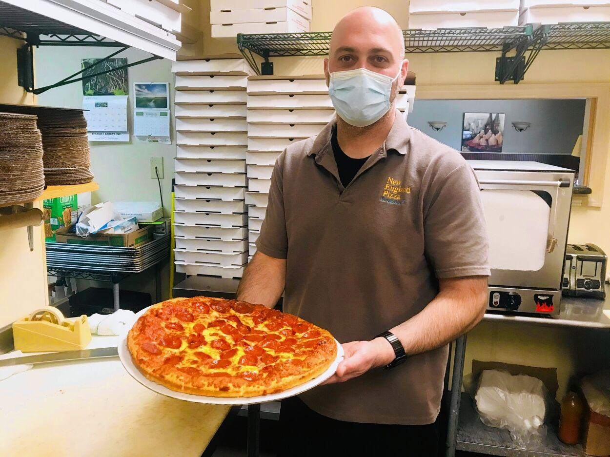 New England Pizza owner Dimitri Hatzisavvas