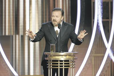 Two-time Golden Globes host Ricky Gervais