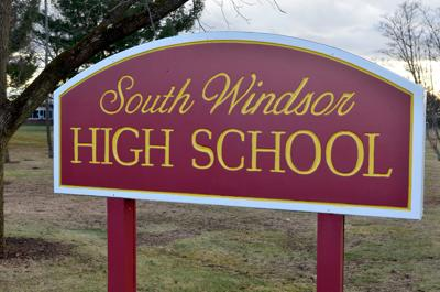 File South Windsor High School sign