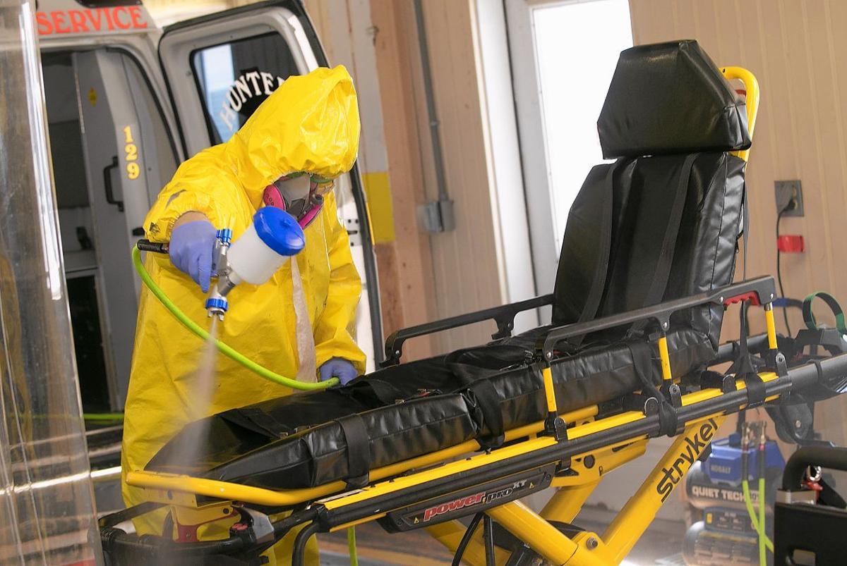 COVID-19 decontamination