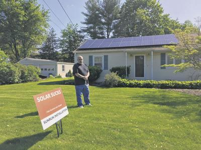 Costs of solar installation cloud man's experience