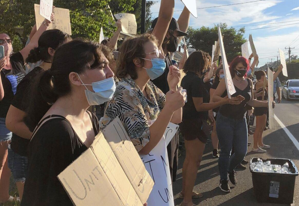 Somers BLM protest