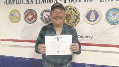 Veteran to be honored