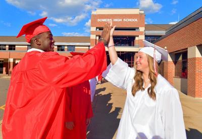 Somers HS graduation