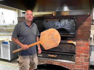 Gary Delbon, owner of Giovanni's Brick Oven Pizzeria in Glastonbury