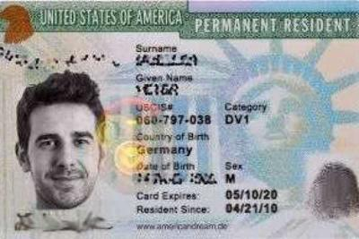Getting a green card investment in options
